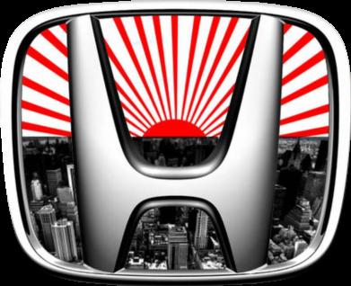 Принт Майка-тельняшка Honda JDM - FatLine