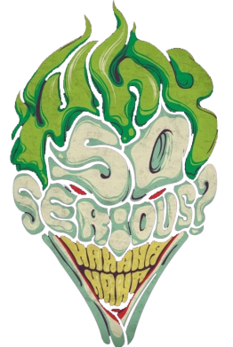 Принт Футболка Why so serious Joker? - FatLine