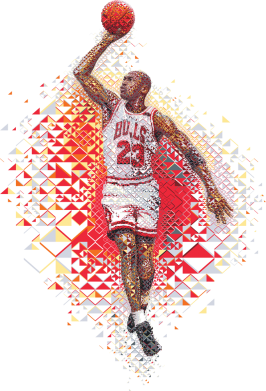 ����� �������� � ������� ������� Michael Jordan - FatLine