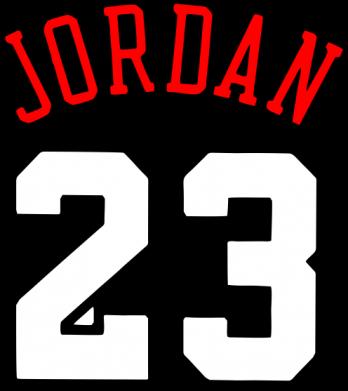 Принт Женская футболка поло Jordan 23 - FatLine