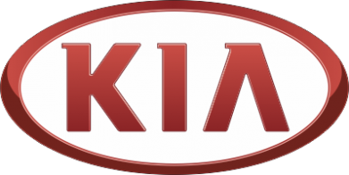 ����� ��������� � ������� ������� KIA 3D Logo - FatLine