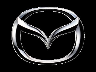 Принт Мужская толстовка на молнии Mazda 3D Logo - FatLine