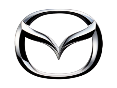 ����� ������� �������� Mazda 3D Small Logo - FatLine