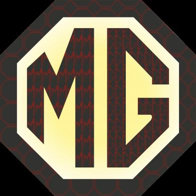 Принт Женская футболка MG Cars Logo - FatLine