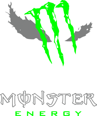 Принт Фартук New Monster Energy - FatLine