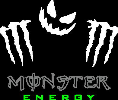 Принт Футболка с длинным рукавом Monster Energy Halloween - FatLine