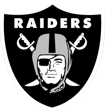 Принт Реглан Oakland Raiders - FatLine
