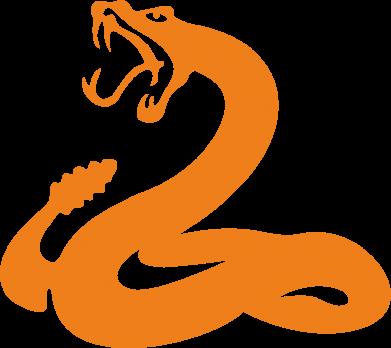 Принт Кружка 320ml Змея - FatLine