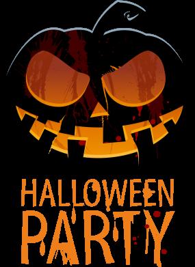 Принт Детская футболка Halloween Party - FatLine