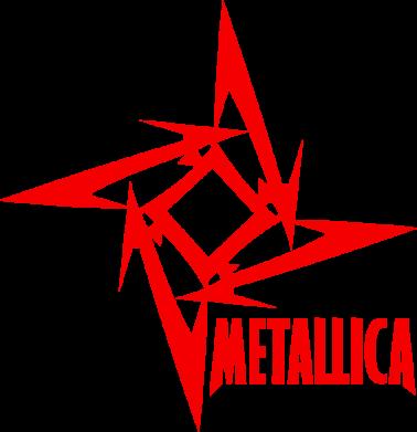 Принт Женская майка Metallica Logotype - FatLine