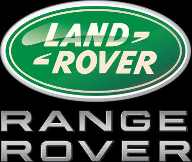 Принт Подушка Range Rover Logo Metalic - FatLine
