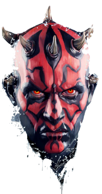����� ������� �������� ���� Darth Maul Art - FatLine