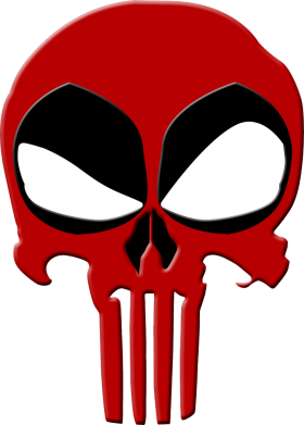 ����� �������� Deadpool Skull - FatLine