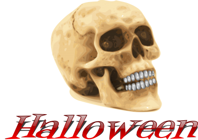 Принт Кружка 320ml Halloween Skull - FatLine