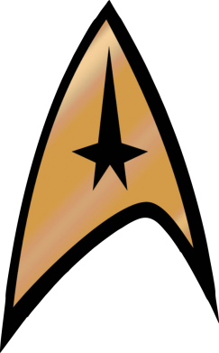 ����� �������� � ������� ������� Star Trek Logo - FatLine
