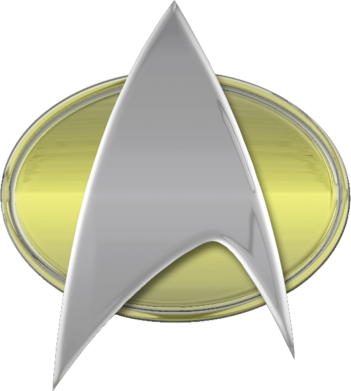 Принт Кепка Star Trek Gold Logo - FatLine