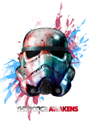 ����� ������� ����� Storm Trooper Helmet - FatLine