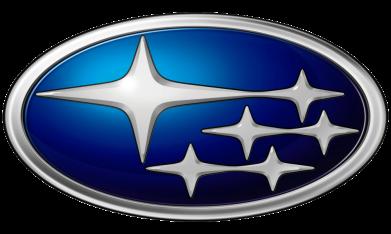 Принт Мужская футболка  с V-образным вырезом Subaru 3D Logo - FatLine
