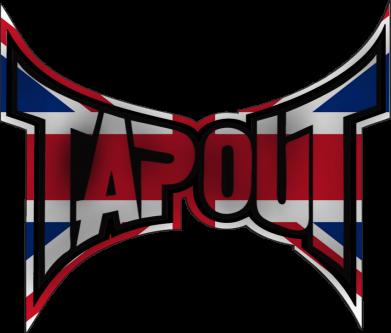 Принт Женская футболка Tapout England - FatLine