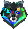 �olorful wolf