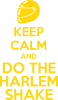 KEEP CALM and DO THE HARLEM SHAKE
