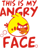 This is my angry face