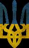 Герб на фоні прапора