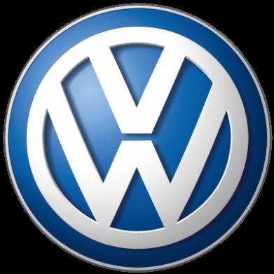 Принт Майка-тельняшка Volkswagen Small Logo - FatLine