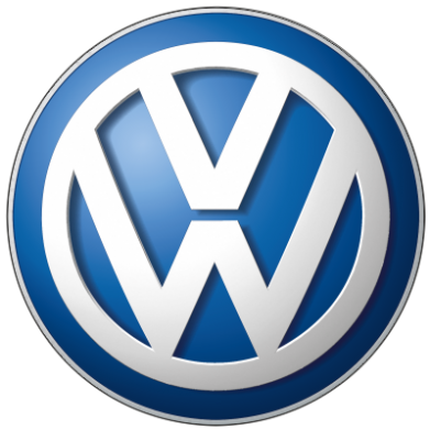 ����� �������� � ������� ������� Volkswagen 3D Logo - FatLine