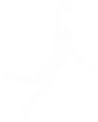 Принт Женская футболка с V-образным вырезом Slam dunk - FatLine