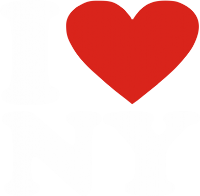 Принт Тільняшка з довгим рукавом Люблю Нью Йорк - FatLine