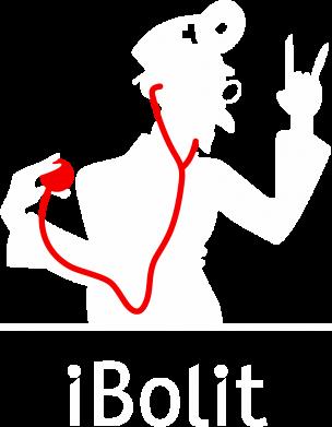 Принт Мужская толстовка на молнии iBolit - FatLine