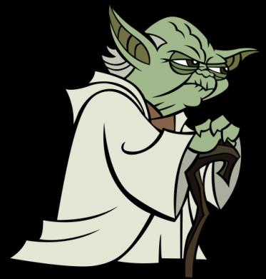 Принт Мужская толстовка Master Yoda - FatLine