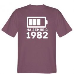Мужская футболка 1982 - FatLine