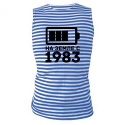Майка-тельняшка 1983 - FatLine
