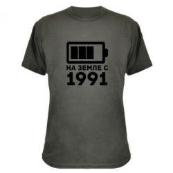 Камуфляжная футболка 1991 - FatLine