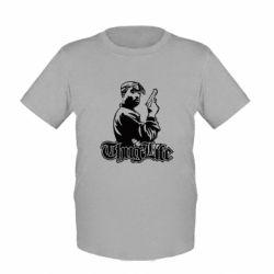 Детская футболка 2pac Thug Life