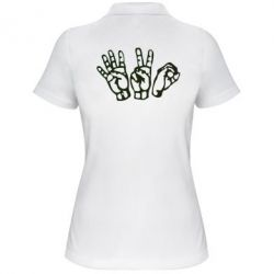 Женская футболка поло 4:20 (четыре:двадцать) - FatLine
