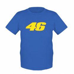Детская футболка 46 Valentino Rossi