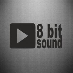 Наклейка 8 bit sound - FatLine