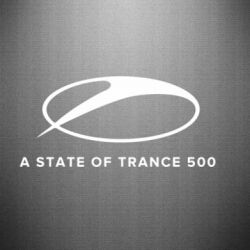 Наклейка A state of trance 500 - FatLine