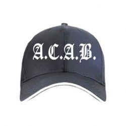 кепка A.C.A.B. - FatLine
