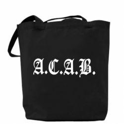 Сумка A.C.A.B. - FatLine