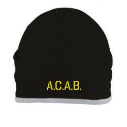 Шапка A.C.A.B. - FatLine