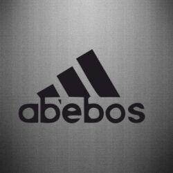 Наклейка ab'ebos - FatLine