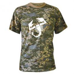 Камуфляжная футболка Abarth - FatLine