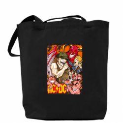 Сумка AC DC Art Banner - FatLine