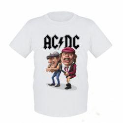 Детская футболка AC/DC Art