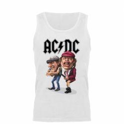 Мужская майка AC/DC Art