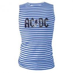 Майка-тельняшка AC/DC Logo - FatLine